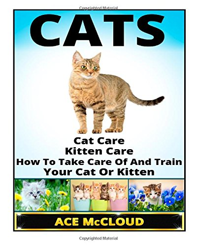 Cats: Cat Care- Kitten Care- How To Take Care Of And Train Your Cat Or Kitten (Cat Care, Kitten Care, Cat Training, Cats and Kittens), Buch