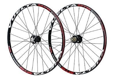 Vuelta SuperLite MTB Wheel Set (Black, 26-Inch)