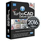 NEW TurboCAD Deluxe 2016 2D/3D Drafting, Modeling, & Rendering recognizes Autocad