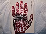img - for Extremely Loud & Incredibly Close Advance Reading Copy book / textbook / text book