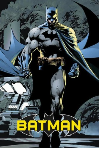 Batman - Comic Poster Art Print (The Dark Knight Walking At Night - Attack)