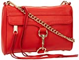 Rebecca Minkoff Mini Mac H001I001 Clutch,Fire Engine,One Size
