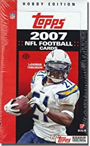 2007 Topps Football Cards Unopened Hobby box (36 packs box, 9 cards pack) Possible... by Topps