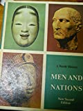 img - for Men and nations: A world history book / textbook / text book