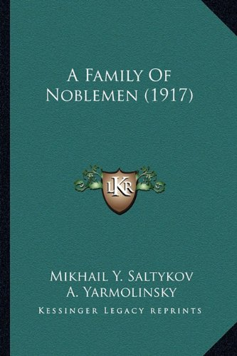 A Family of Noblemen (1917)
