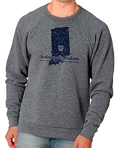 NCAA Butler University Bulldogs Men's State Design Triblend Sweatshirt, XX-Large (Butler Bulldogs Sweatshirt compare prices)