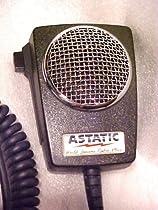 Astatic 302-D104M6B Amplified Ceramic Power CB Microphone