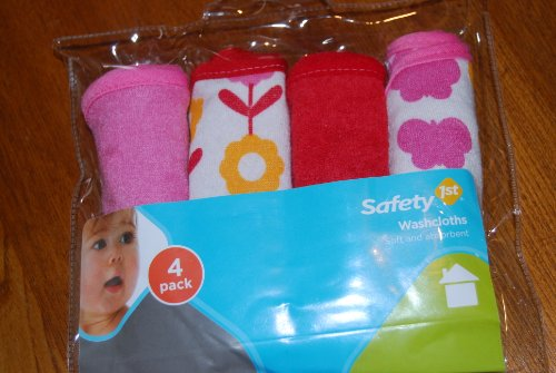 Safety 1st Washcloths 4 Pk - 1