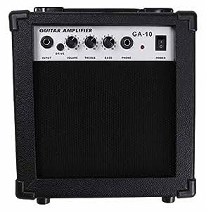 Amazon Guitar Combo Amp : barcelona 10 watt electric guitar combo amp musical instruments ~ Vivirlamusica.com Haus und Dekorationen