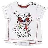 boboli, 221072 - Camiseta Punto Liso, color blanco, talla 9M(74cm)