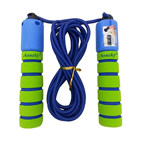 Aoneky Adjustable Kids Jump Rope with Counter and Comfortable Handles (Kids Jump Ropes compare prices)