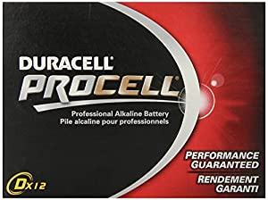 DURACELL D12 PROCELL Professional Alkaline Battery,