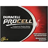 DURACELL D12 PROCELL Professional Alkaline Battery Value Pkg of 24 Count
