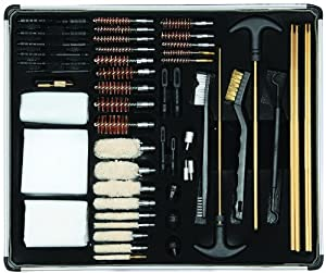 Allen Company Gun Cleaning Kit (in Aluminum Box, 60 Piece) by Allen Allen