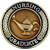 Navy Blue Nursing Graduate Lapel Pin