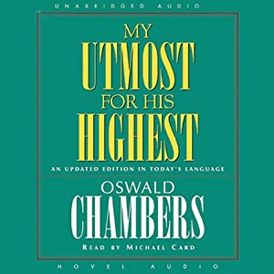 My Utmost for His Highest Audiobook