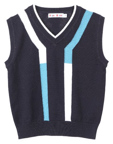 Viero Richi Boys and Toddlers V-Neck Pullover Knit Sweater Vest - Sizes 2-16 чайник электрический supra kes 1724 2200вт белый и серый