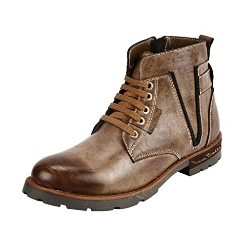 Bacca Bucci Men Ps-1033 Natural Leather Boots