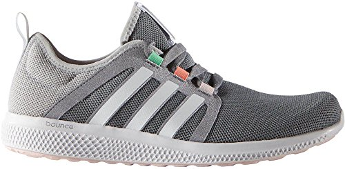 Adidas Women's CC Fresh Bounce Running Shoes Grey/RunningWhite/ClearOnix 8 B(M) US