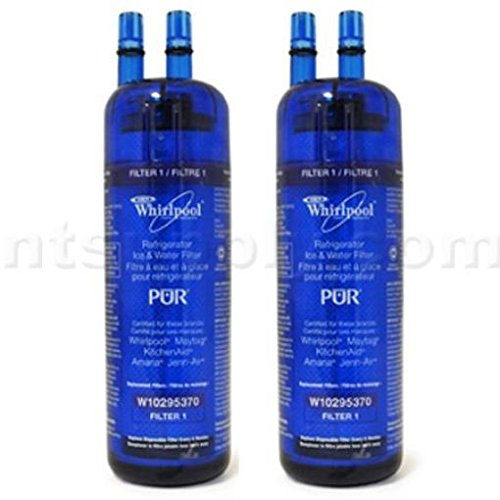DistiKem(TM) Whirlpool PUR Advd Fridge Filter W10295370/FILTER1 - 2-Pack (Refrigerator Filter Pur W10295370 compare prices)