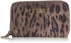 Liebeskind Berlin Gwendy Suede Lux Wallet,Taupe,One Size