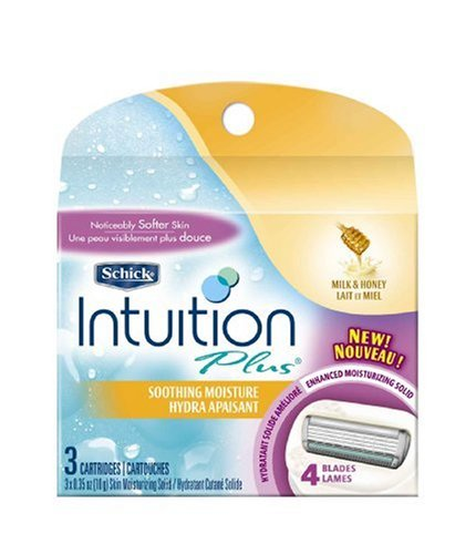 schick-intuition-plus-cartridges-soothing-moisture-milk-honey-3-cartridges-pack-of-2-by-schick