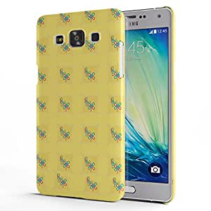 Koveru Designer Printed Protective Snap-On Durable Plastic Back Shell Case Cover for Samsung Galaxy A5 - Chain Pieces