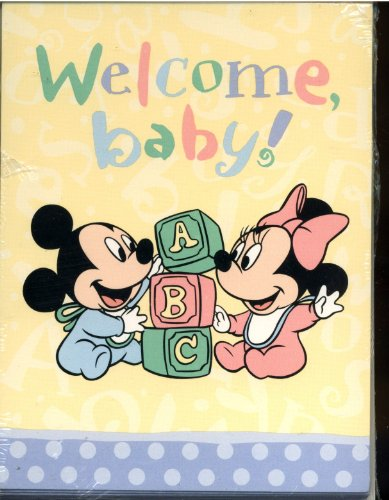 Walt Disney's Disney Babies - Baby Shower Invitations