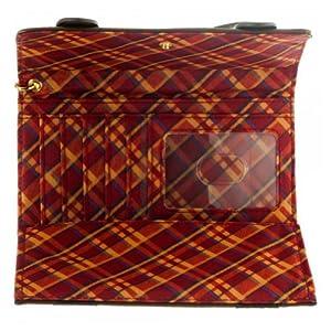 Official Harry Potter Hogwarts Crest Trifold Satchel Wallet Tri-fold Purse