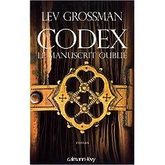 Codex, le manuscrit oublié - Lev Grossman