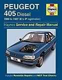 Haynes Peugeot 405 Diesel (88 - 97) E to P reg Car Maintenance Service Repair Manuals HAYNES MANUAL MANUALS 3198 3198C