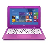 HP Stream 11.6 Inch Laptop (Intel Celeron, 2 GB, 32 GB SSD, Orchid Magenta) Includes Office 365 Personal for One Year - Free Upgrade to Windows 10