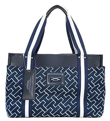 Tommy Hilfiger Handbag, Medium Iconic Shopper Tote: Handbags: Amazon