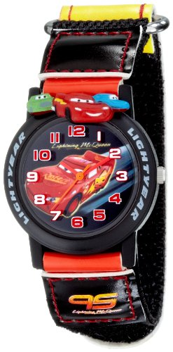 Disney Cars Velcro Strap Analogue  Watch