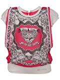 Leichie Casual Printed Top Color Rani, Size 24