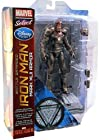 Iron Man 3 Marvel Select Exclusive Action Figure Battle Damaged Iron Man Mark XLII Armor