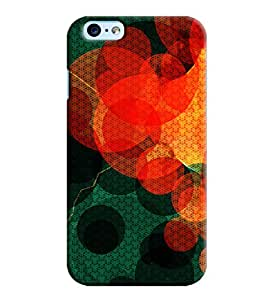 Blue Throat Red Circle Pattern Printed Designer Back Cover/ Case For Apple iPhone 6s Plus