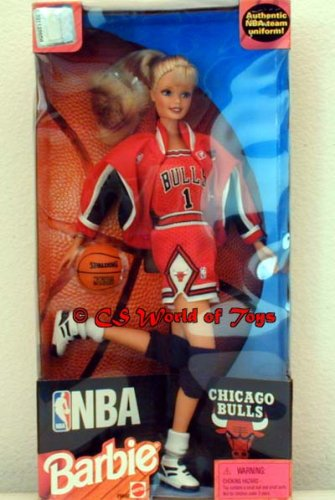 1998 NBA Chicago Bulls Barbie