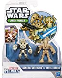 Hasbro Star Wars 2012 Playskool Jedi Force Mini Figure 2pack General Grievous Battle Droid