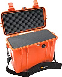 Pelican 1430 Case with Foam for Camera (Orange)