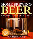 Home Brewing Beer And Other Juicing Recipes: How to Brew Beer Explained in Simple Steps
