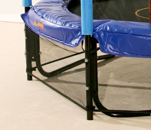 hudora safety trampoline jump in safetynet padded. Black Bedroom Furniture Sets. Home Design Ideas