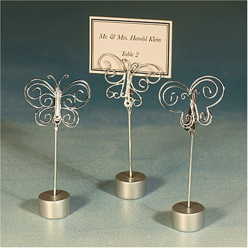 butterfly design place card holders (Set of 12)
