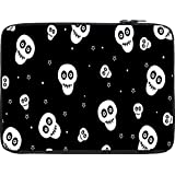 Snoogg Skull Pattern 2437 12 To 12.6 Inch Laptop Netbook Notebook Slipcase Sleeve