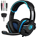 SADES SA-708 GT Universal Gaming Headset With Microphone - Retail Packaging