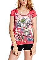 Sidecar Camiseta Manga Corta Greta (Coral)