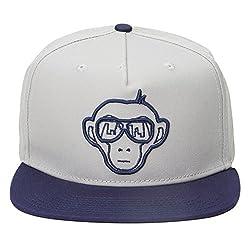 Urban Monkey Premium Grey Adjustable Baseball Snapback Free Size Unisex Hip Hop Cap