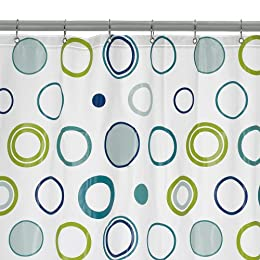 Contemporary Home Dot Shower Curtain - Blue/ Green