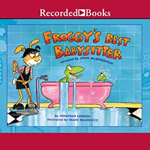 Froggy's Best Babysitter Audiobook
