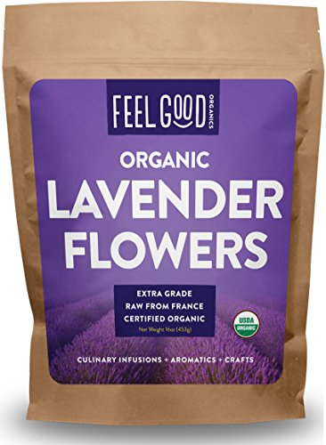 Organic Lavender Flowers (Extra Grade - Dried) - 16